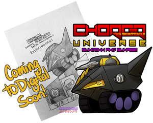 Choro-Q Universe Comics Going Digital!