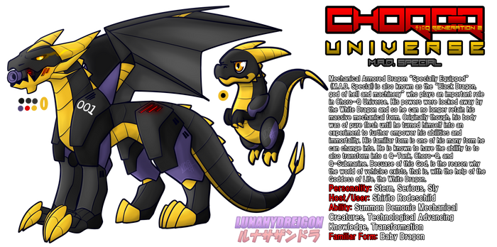 Choro-Q Universe - Black Dragon, God of Machinery