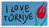 I Love Turkey Stamp by Chingiz-han