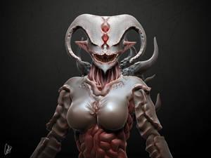 Ema - Creature Sculpture