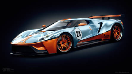 Ford GT Gulf Special