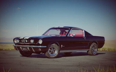 1965 Ford Mustang Fastback - free model by GranDosicua