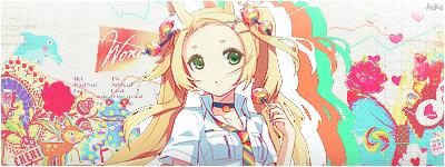 Colour girl -Signature- by cati-neko