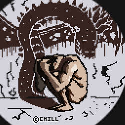 Invisible Dragon (Art Request) by CraigJonathonHill