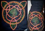 Celtic Design on Dress