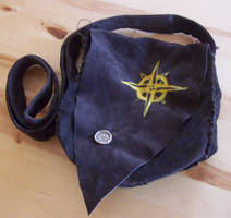 Leather Sailor Pouch by stardrop