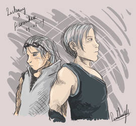 Zack and Alex tablet by stardrop