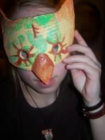 Uruk-Owl Mask by stardrop