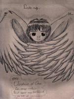 Liath Angel Sketch by stardrop