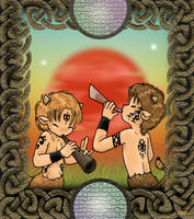 Pagan Satyr Fantasy by stardrop