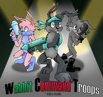 Wabbit Command Troops by stardrop