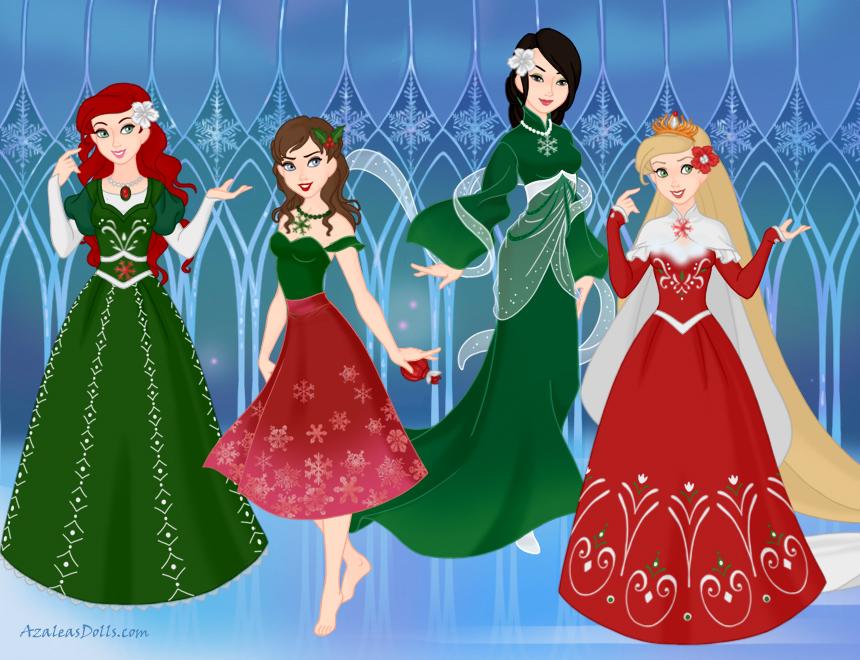 A Disney Christmas by DisneyFlower