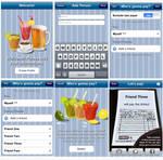 WPTD app interface design