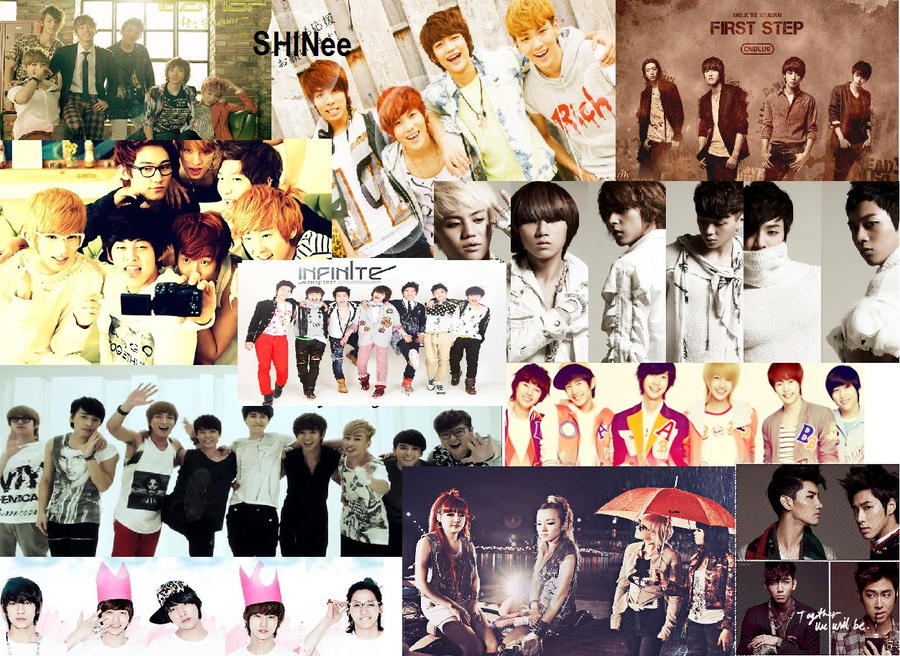 My Favorite Kpop Groups by ShineeWorld58 on DeviantArt