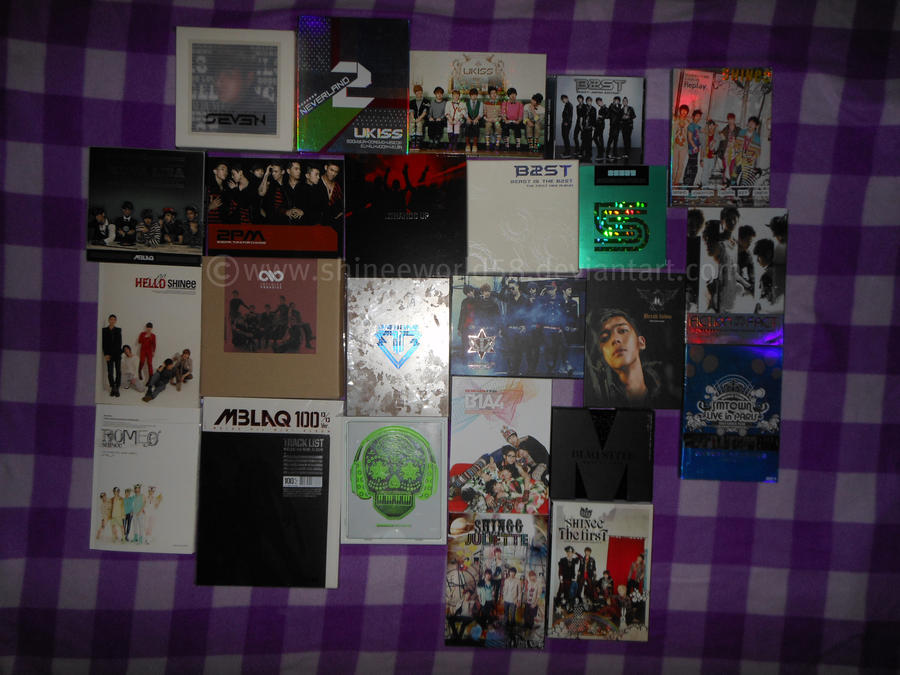 FULL Kpop Album Collection by ShineeWorld58