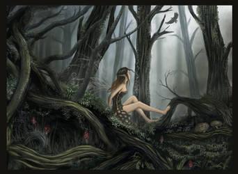 Wood Nymph by furiouskitten