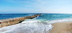 Black Sea Panorama by dmitroza