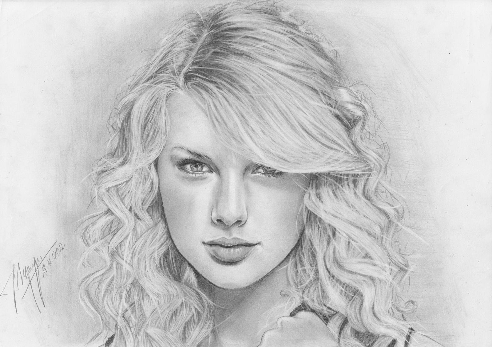 Taylor Swift by AfterSchoolArts