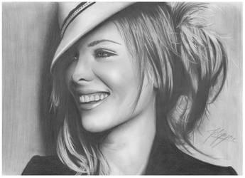 Kate Beckinsale by AfterSchoolArts