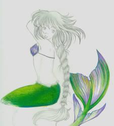 Mermaid by Bluefaerie87