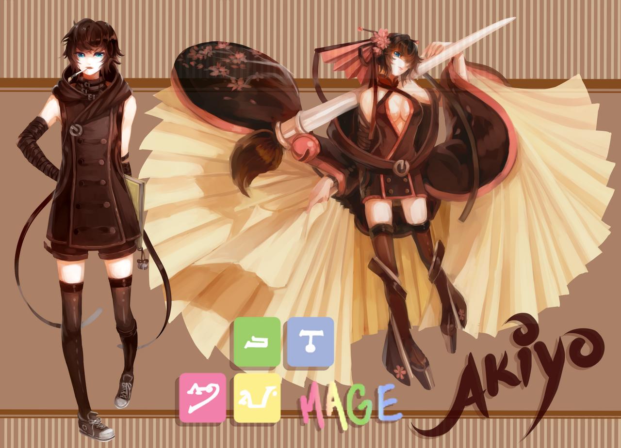 MAGE: Akiyo by fieru-ri