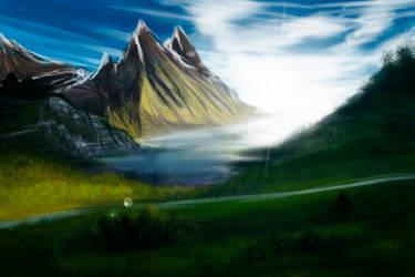 speedpaint/mountain bay