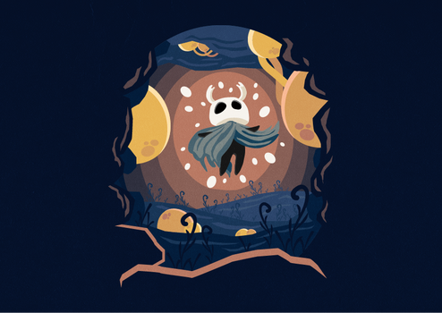 Hollow Knight. Little ghost