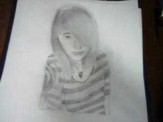 Sketch of Chelsey by Jayskillz