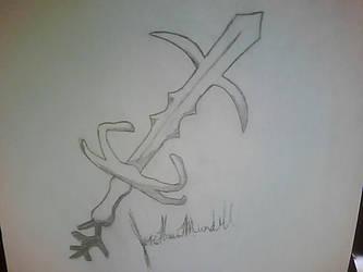 Bandos Godsword Sketch by Jayskillz