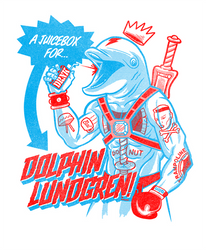 A juicebox for Dolphin Lundgren