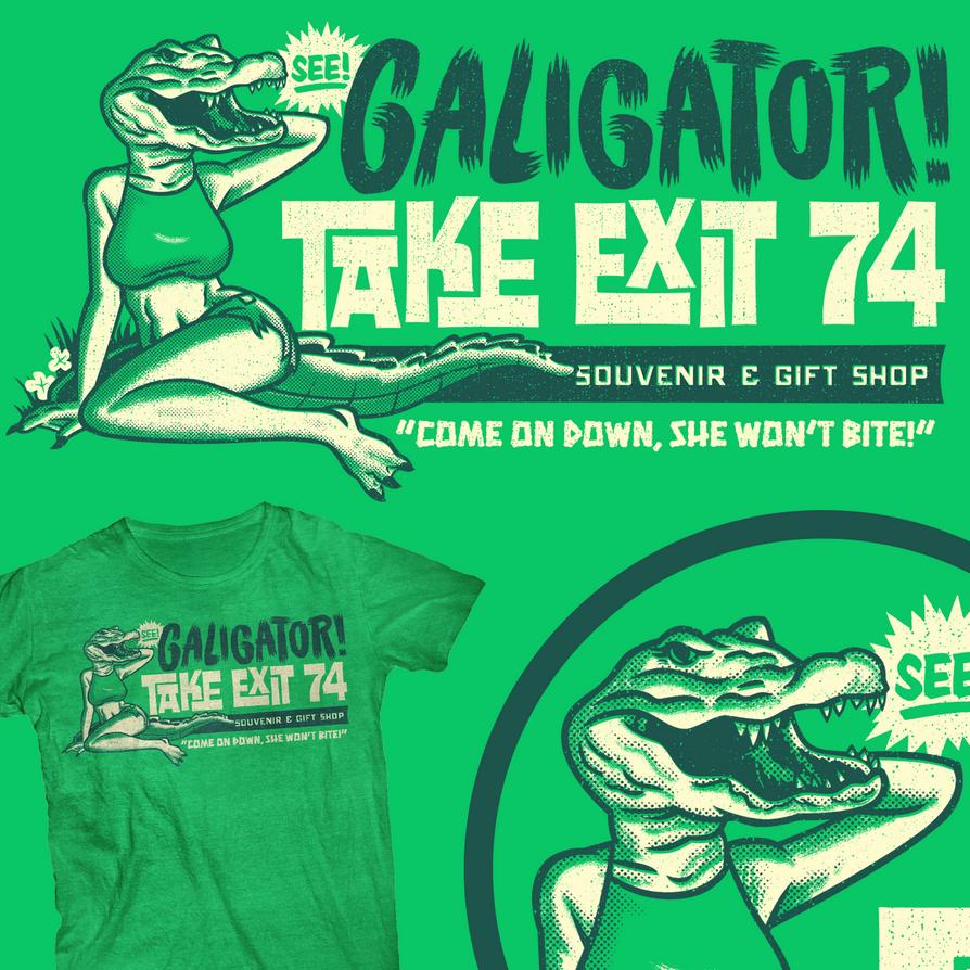 Galigator by gimetzco