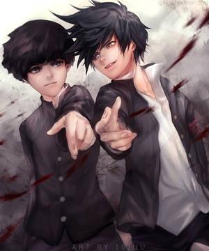 Bros (Mob Psycho 100) by 10Juu