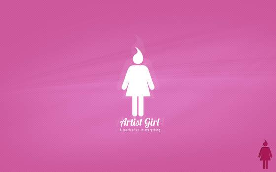 Artist Girl's logo