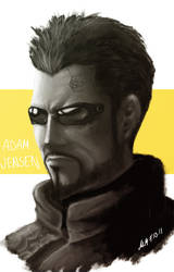 Deus Ex HR - Adam by kiwii