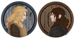 The Hobbit - Brothers Fili and Kili