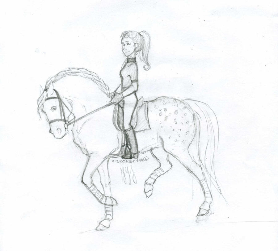 Dressage Horse Coloring Pages Coloring Pages