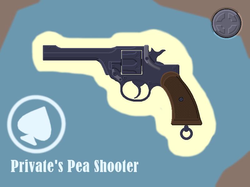 The Private's Pea Shooter - Frontline by La-boite-a-Sandvish