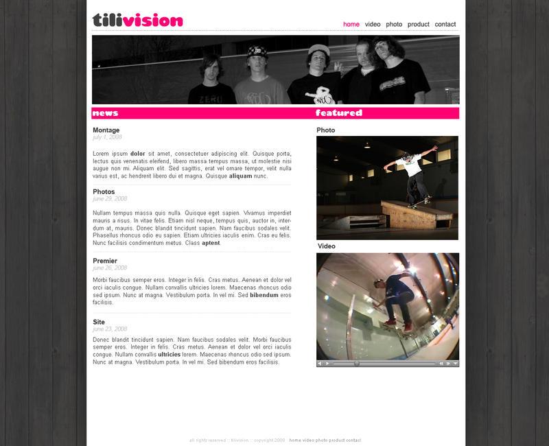 Tilivision Web by kr3wsk8er2811