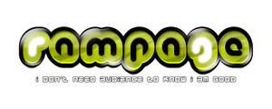 Rampage Logo by victorsosea