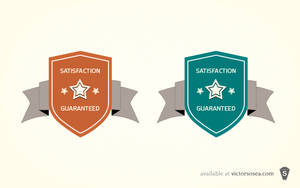 Simple Badges Free PSD by victorsosea