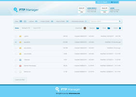 FTP Manager Free PSD