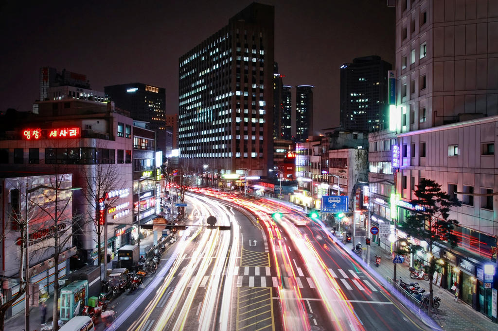 Seoul, Evening Traffic by carlos170691