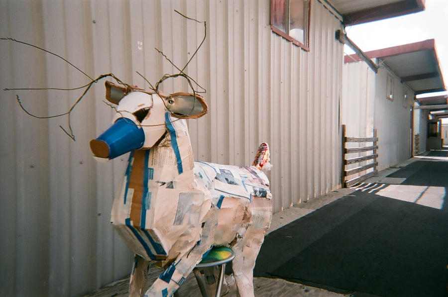 Deer-Found Object Sculpture 4