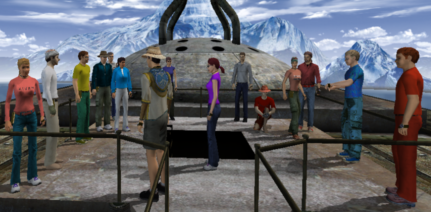 Explorers in Er'cana 5