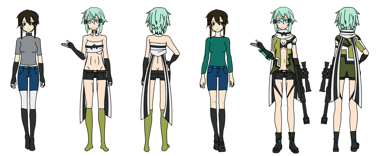 Sword Art Online Character Similar Design