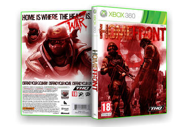 Homefront Box Art
