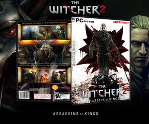 The Witcher 2 Box Art