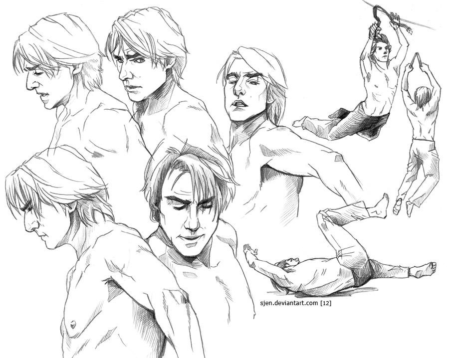 Studies - Ethan Hunt (2) by SJen