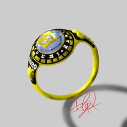 Hawthorn Class Ring