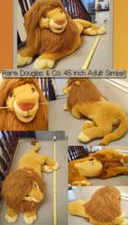 Douglas and Co. Adult Simba - FOR SALE